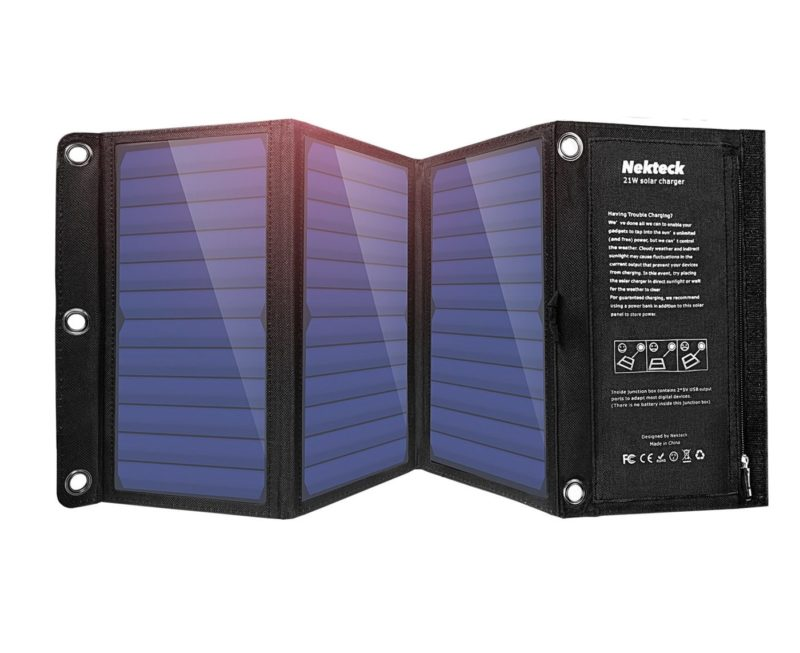 Nekteck 21W Portable Solar Panel Charge